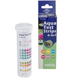 Экспресс-тест Velda Aqua Test Strips 6 in 1