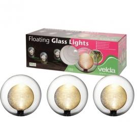 Світильники плаваючі Velda Floating Glass LightsСвітильники плаваючі Velda Floating Glass Lights