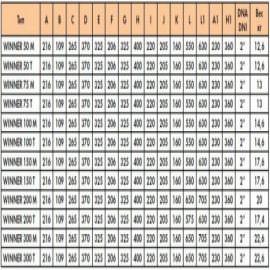 насос для бассейна saci winner 150 m - 24  м3/час Saci (Испания) насосы для бассейна