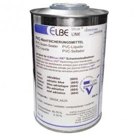 Жидкий ПВХ для пленки ELBEblue line. бирюзовый