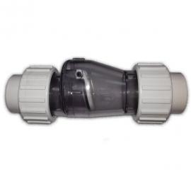 Обратный клапан поворотный ПВХ AquaKing - D 50 мм