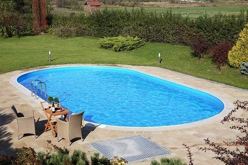 Сборный каркасный бассейн Toskana 4,16 x 8,00 х 1,2 м