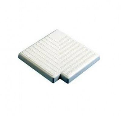 угол kripsol к переливной решетке 90 (ширина 195 мм высота 20мм.) Kripsol (Испания) переливные решетки