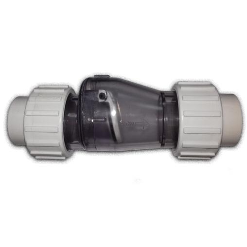 обратный клапан поворотный пвх aquaking - d 50 мм AquaKing (Нидерланды) задвижки и краны для труб пвх