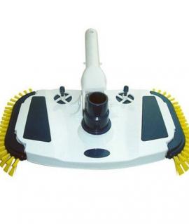 Щетка для дна с боковой щетиной и регулятором давления Bridge Cobalt Blue