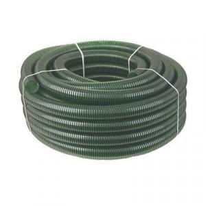 Шланг напорно-всасывающий, спиральный (зеленый), 50 мм
