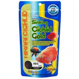 Корм для хищных цихлид Hikari Cichlid Gold Sinking тонущий 0,342 kg