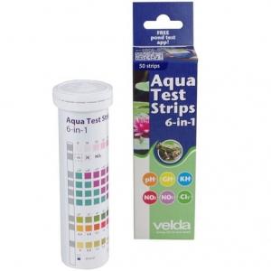 Экспресс-тест Velda Aqua Test Strips 6 in 1